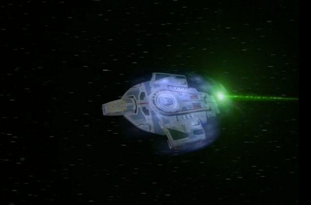 Upscaling Star Trek: Deep Space Deväť pomocou AI Topaz Video Enhance 5