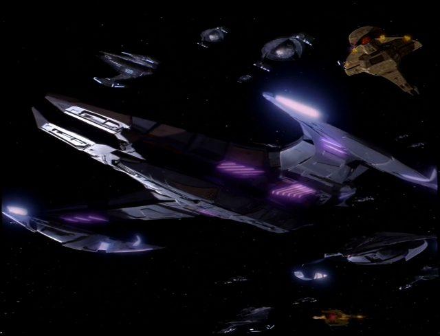 Upscaling Star Trek: Deep Space Deväť pomocou AI Topaz Video Enhance 9