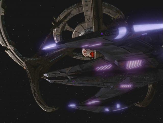 Upscaling Star Trek: Deep Space Deväť pomocou AI Topaz Video Enhance 6