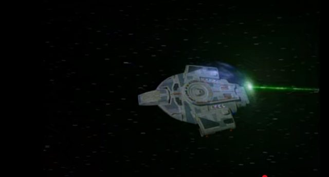 Upscaling Star Trek: Deep Space Deväť pomocou AI Topaz Video Enhance 3
