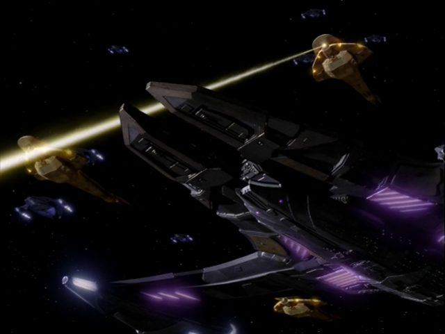 Upscaling Star Trek: Deep Space Deväť pomocou AI Topaz Video Enhance 14