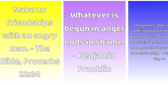 Citáty pre riadenie hnevu