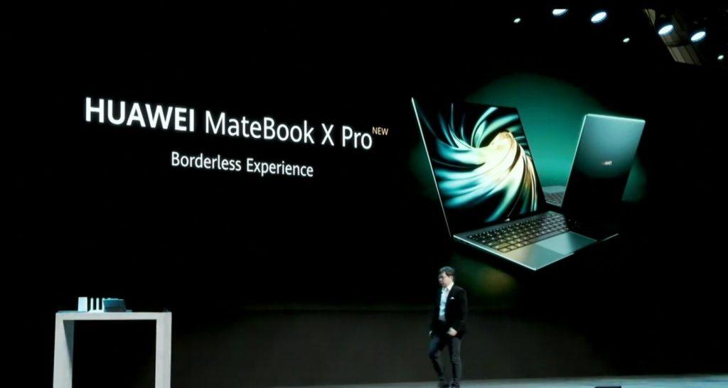 Spoločnosť Huawei uvádza na trh model Huawei MateBook X Pro 2020 s ultratenkým dizajnom, bezokrajovým displejom a procesormi Intel s desiatimi generáciami 2