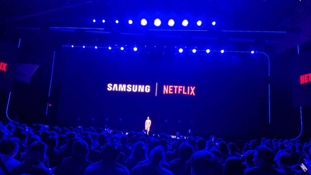 Spoločnosť Samsung oznámila partnerstvo s niekoľkými poprednými spoločnosťami vo svojich segmentoch vrátane spoločnosti Netflix.