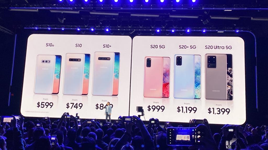 Porovnanie cien smartphones Galaxy