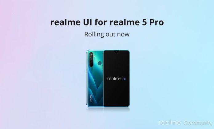 Aktualizácia Android 10 pre Realme 5