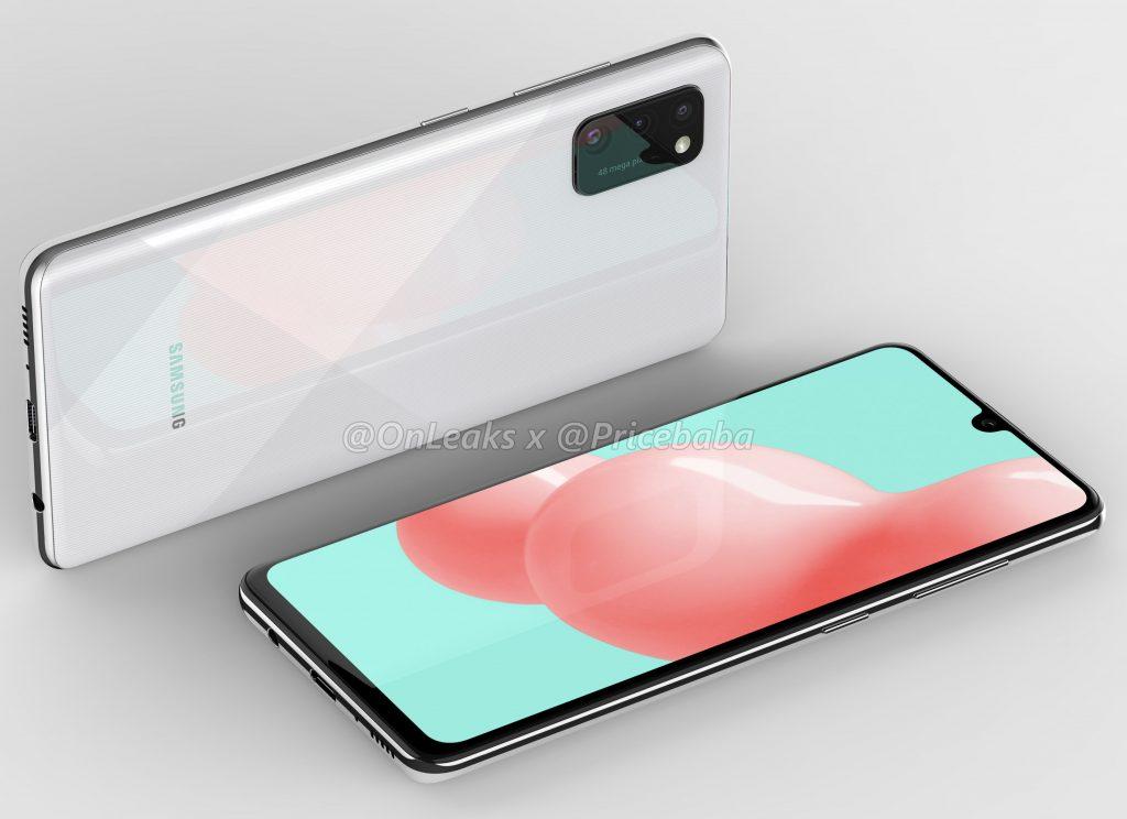 Samsung Galaxy A41 sa predviedla v sérii takmer oficiálnych omietok 2