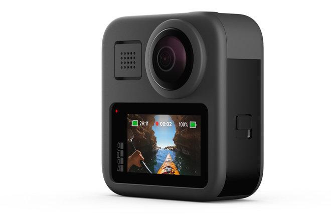 GoPro Hero 8 Čierna odhalená popri 360 stupňoch Max 2