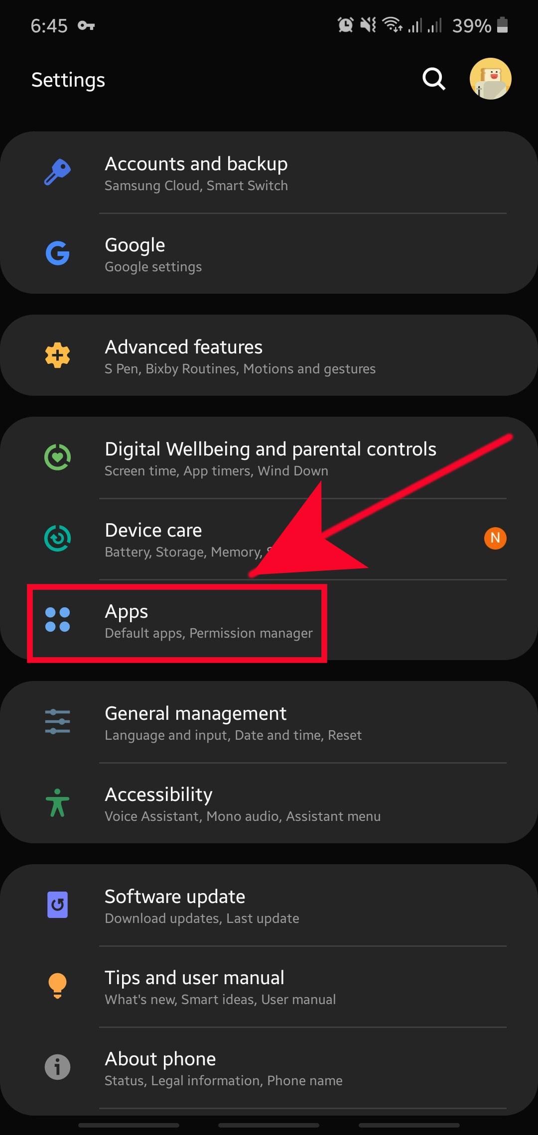 Ako vynútiť ukončenie aplikácie na zariadení Samsung 2