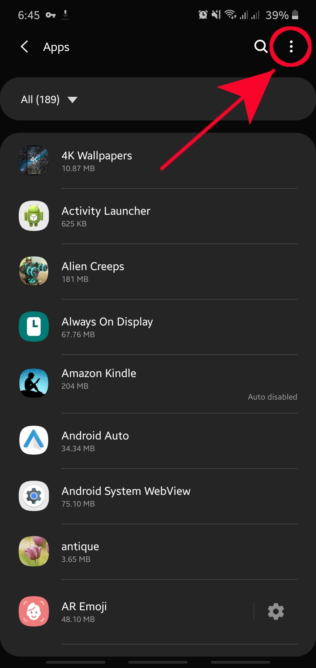 Ako vynútiť ukončenie aplikácie na zariadení Samsung 3