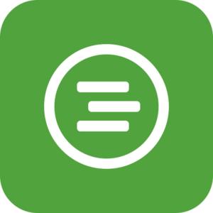 logo obchodných aplikácií pre správu podniku