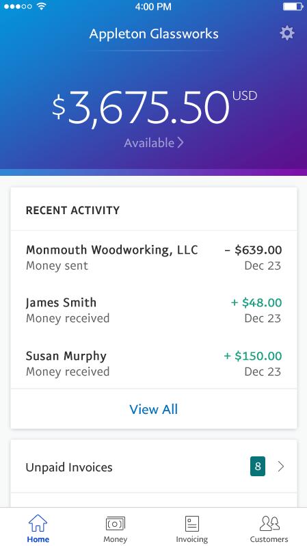aplikácie pre správu podniku paypal app 1