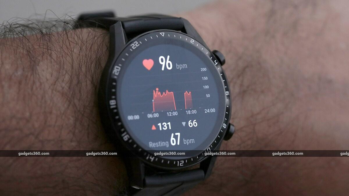 Huawei Watch GT 2 Heartrate Huawei Watch GT 2 Preskúmanie