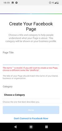 vytvorte si svoju fb stránku