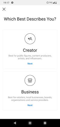 Ako vytvoriť Instagram Stránka pre vaše podnikanie 1