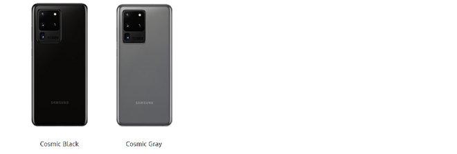 Farby Samsung S20: Všetky farby pre nový Samsung Galaxy S20, S20 + a S20 Ultra 4