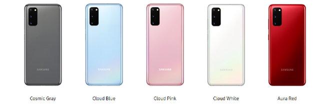 Farby Samsung S20: Všetky farby pre nový Samsung Galaxy S20, S20 + a S20 Ultra 2