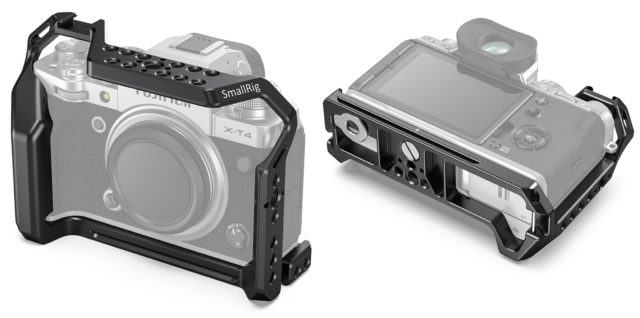 Ohlásená klietka SmallRig FUJIFILM X-T4 - verzia s a bez priľnavosti batérie 3