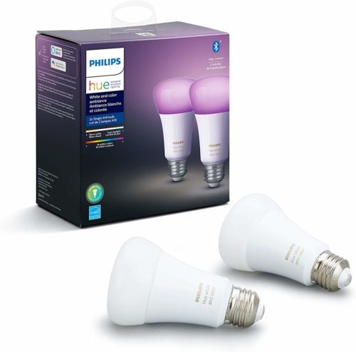 philips hue white a color ambiance smart bulb