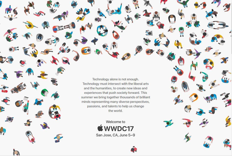 Snímka obrazovky webovej stránky WWDC. Vstupenky na podujatie budú ponúkané náhodným výberom