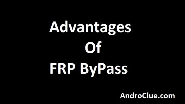 Výhody FRP ByPass