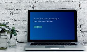 Oprava používateľského profilu sa nedá načítať Windows 10 predstavoval obrázok
