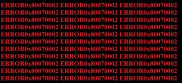 Ako to opraviť Windows Snímka chyby 0x80070002