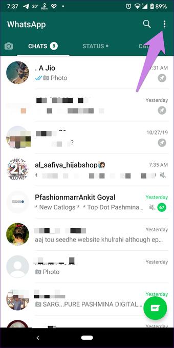 Whatsapp obrázky nezobrazujú galériu na Android iphone 1