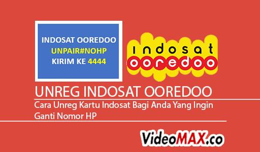 Ako zrušiť registráciu Indosat Ooredoo