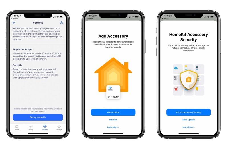 Aktualizácia aplikácie Eero HomeKit