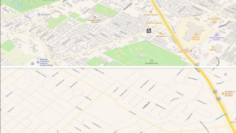 Apple zavádza novú aplikáciu Mapy v USA 1