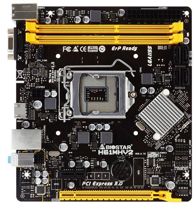 BIOSTAR oznamuje základnú dosku H61MHV2 kompatibilnú s procesormi Intel druhej a tretej generácie 1