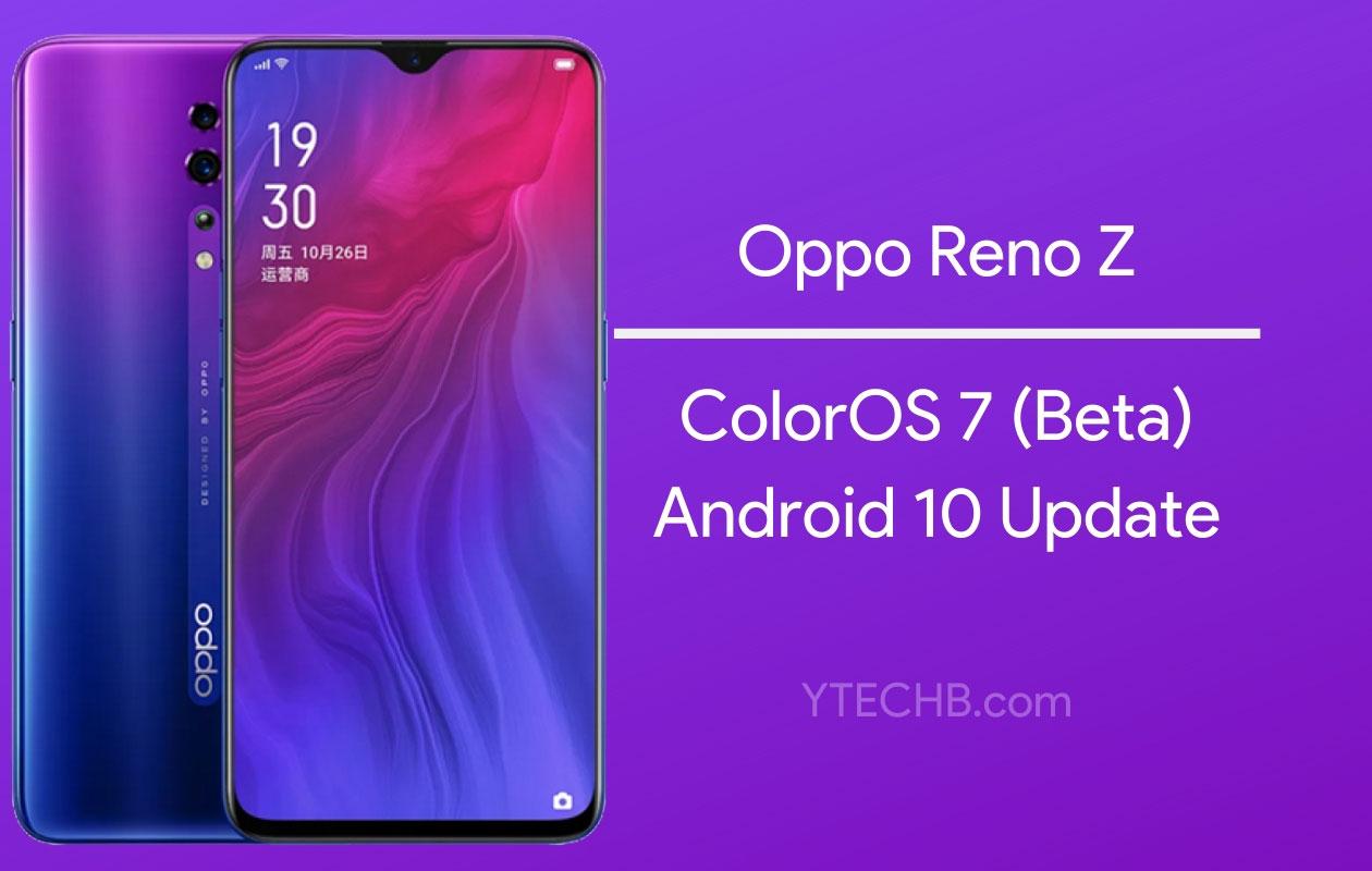 ColorOS 7 Aktualizácia je teraz k dispozícii pre Oppo Reno Z [for Early Adopters] 1