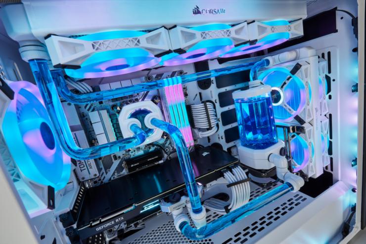Corsair Predstavila Jasná Biela Séria Vodné Chladenie Výrobkov Pre 2020 1