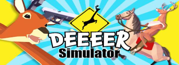 DEEEER Simulator: Vaša priemerná denná jeleň hra zdarma na stiahnutie (v1.00,92) 1