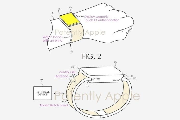 Dotykové ID by sa mohlo dostať na internet Apple Watch? 1