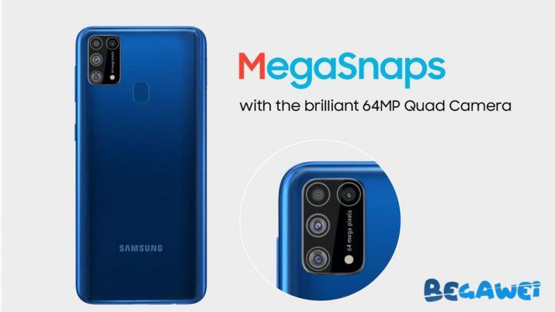 Samsung Galaxy M31 Oficiálne spustené