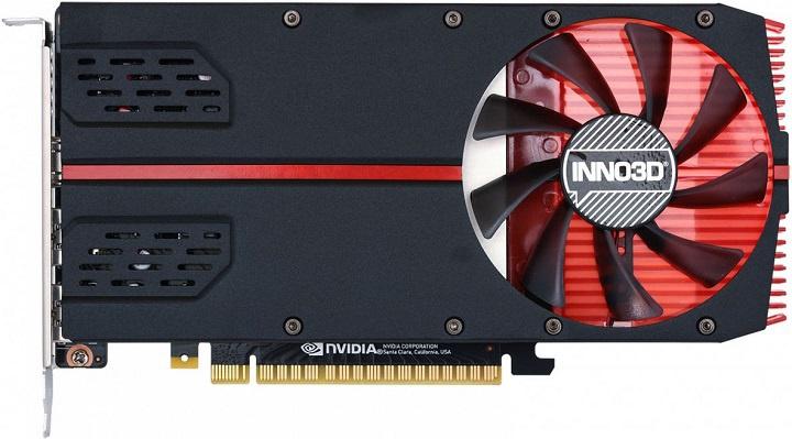 Inno3D oznamuje verziu s jedným slotom GTX 1650 1