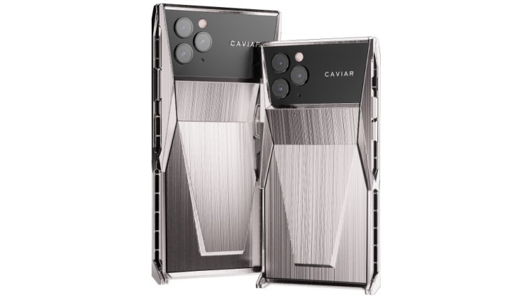 Kaviár uvádza na trh $5, 256 titánu-oblečený iPhone 11 Pro inšpirovaný spoločnosťou Tesla's Cybertruck 1