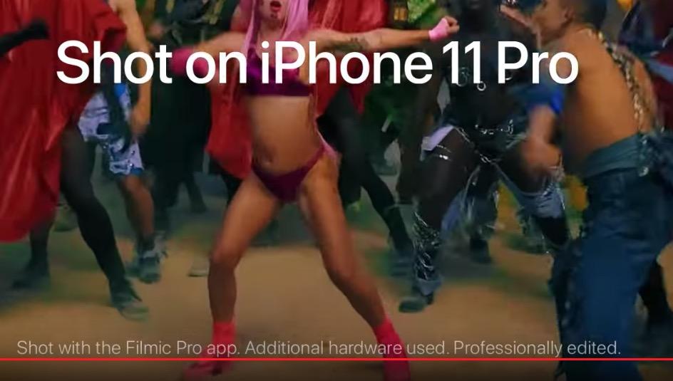 Lady Gaga s hudobným videom nahraným na iPhone 11 Pro. Tentoraz môžete uveriť, že ide o klip pre iPhone 1