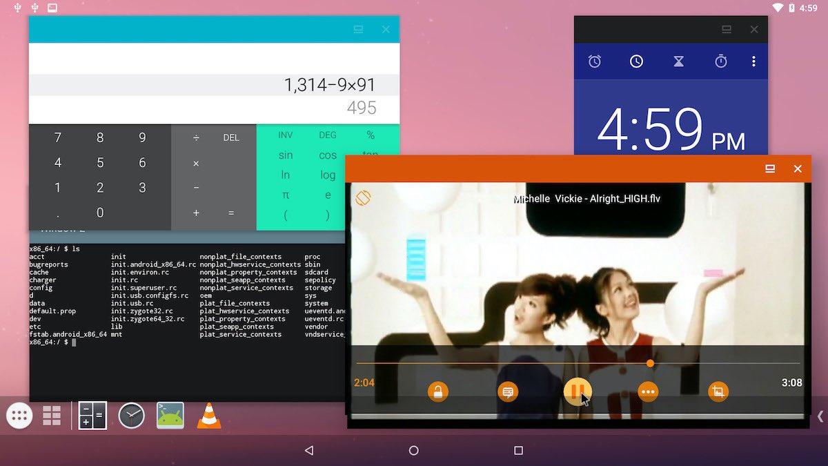 """Projekt """"Android na vašom počítači"""" Projekt Android x86 bol aktualizovaný na systém Android 9 koláč 1"""