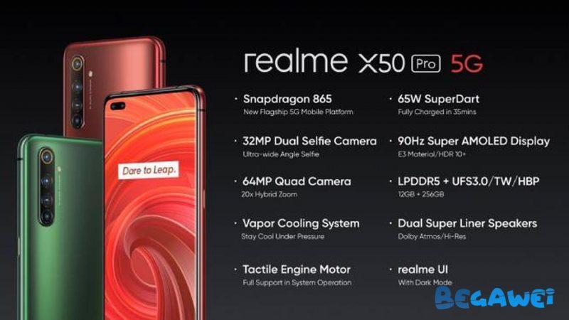 Vyzbrojený telefónom Snapdragon 865 je Realme X50 Pro pripravený na spustenie