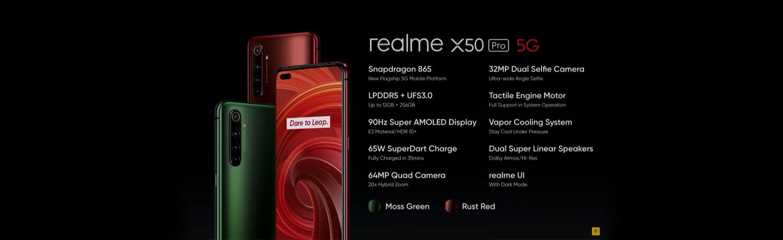 Realme X50 Pro 5G je oficiálny, ceny začínajú na 529 USD
