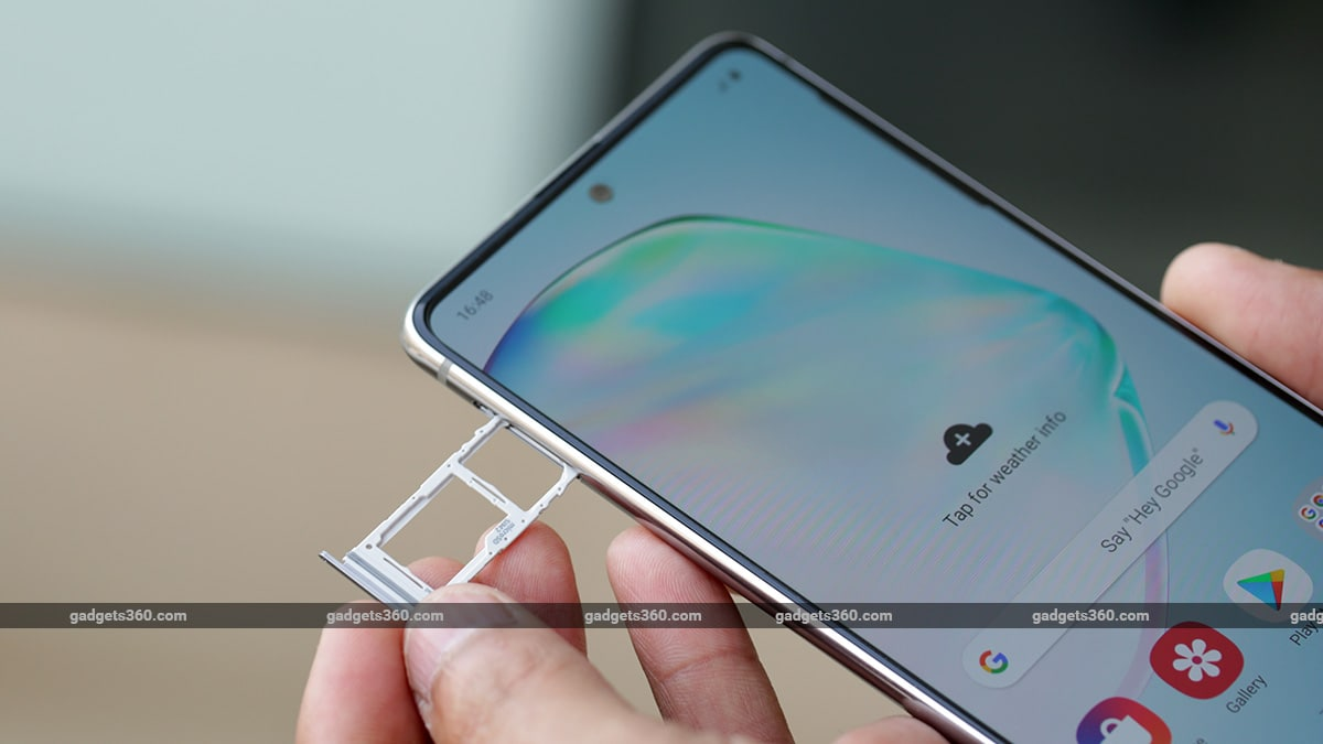 samsung galaxy note lite 10 hybrid sim Samsung Galaxy Note  10 Lite Review