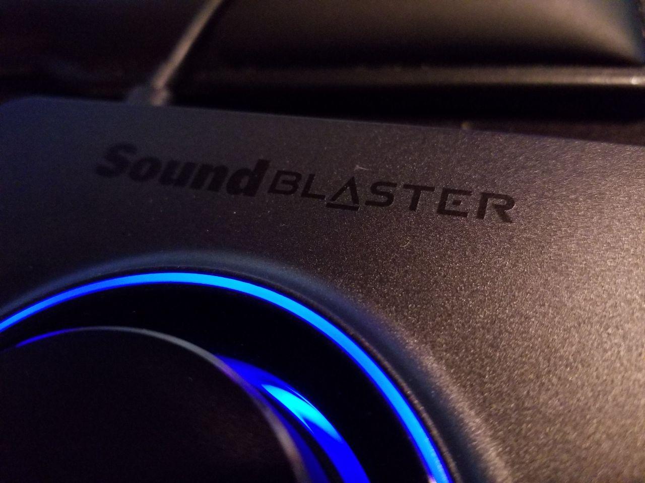 Sound Blaster X3 - Hi-Res 7,1 Super X-Fi USB DAC s náhlavným zosilňovačom Recenzie 1