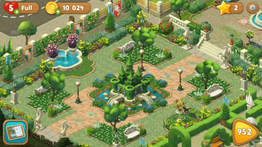 Stiahnite si Gardenscapes na PC 2