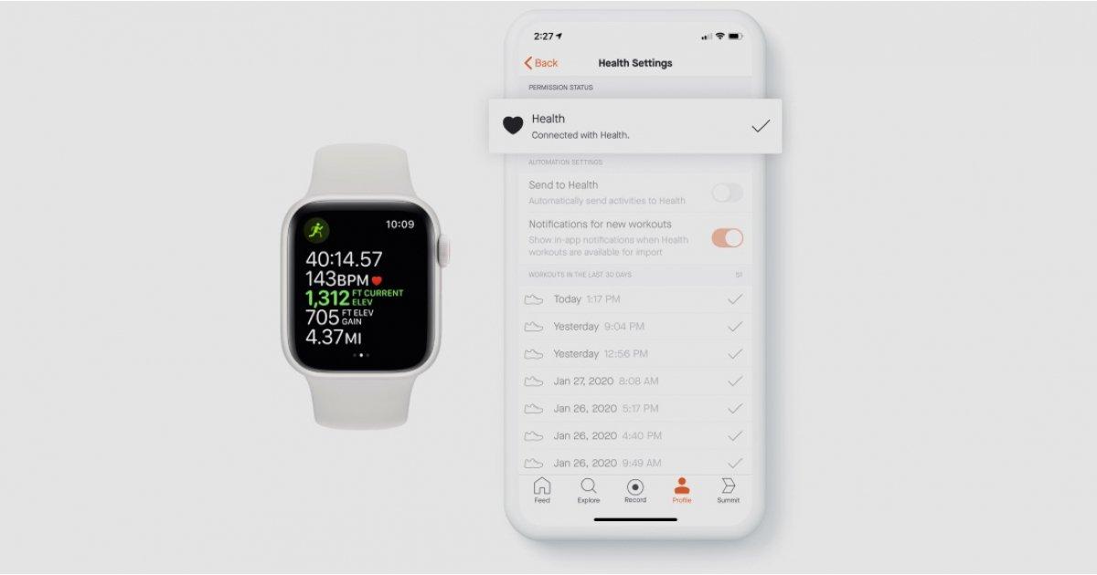 Strava sa teraz pripája k Apple HealthKit a dodáva orezávanie aktivít 1