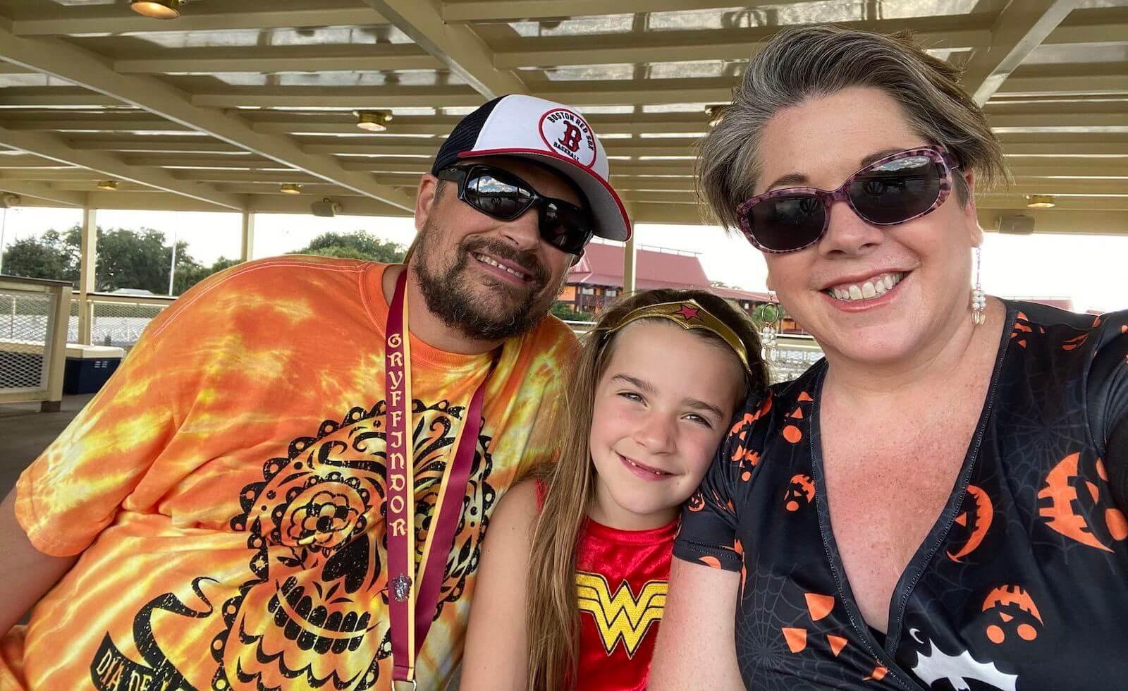 Lisa Troyer so svojou rodinou