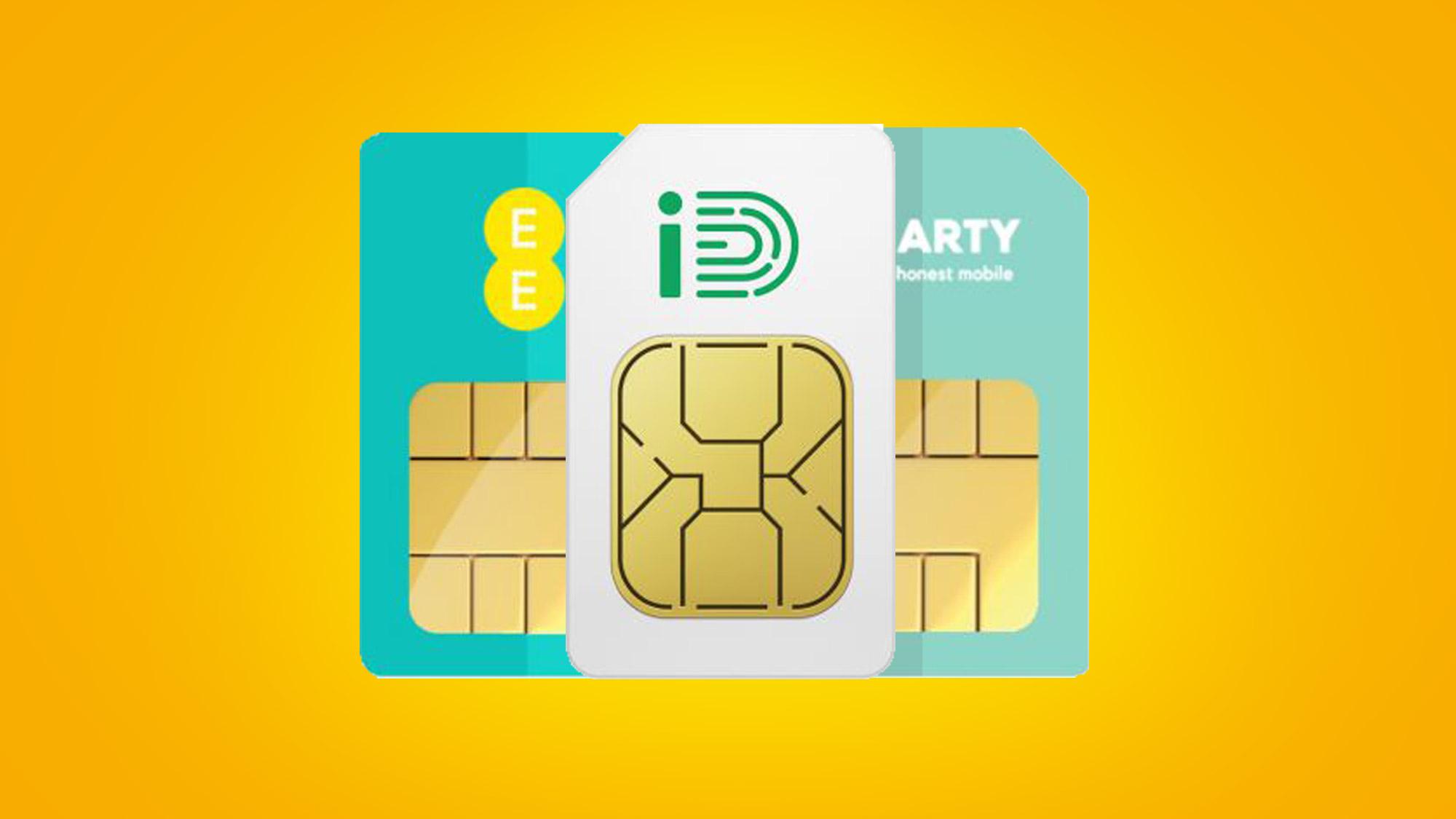 Toto je päť hlavných SIM ponúk, ktoré sa konajú iba tento víkend: Tri, EE, Vodafone a ďalšie 1