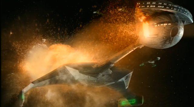 Upscaling Star Trek: Deep Space Deväť pomocou AI Topaz Video Enhance 1